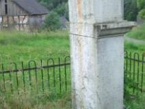 Kreuz Engeld vor Restaurierung