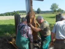 Ein neues Kreuz in Strießhardt